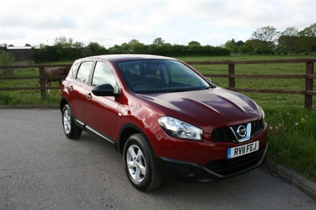 used Nissan Qashqai VISIA in aldershot-hampshire