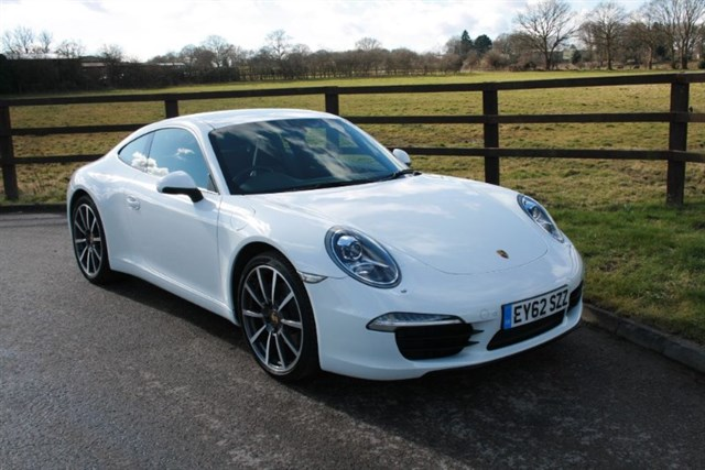 used Porsche 911 CARRERA PDK (PCM.. BLACK LEATHER.. ) in aldershot-hampshire