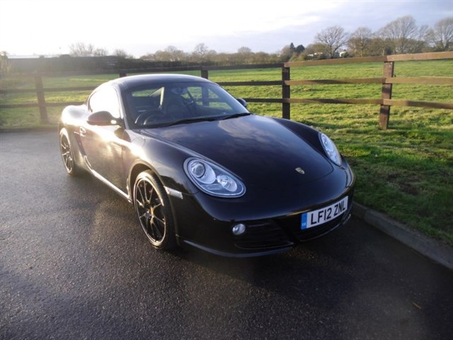 used Porsche Cayman 24V S PDK (INFOTAINTANT PACK & DESIGN PACK) in aldershot-hampshire