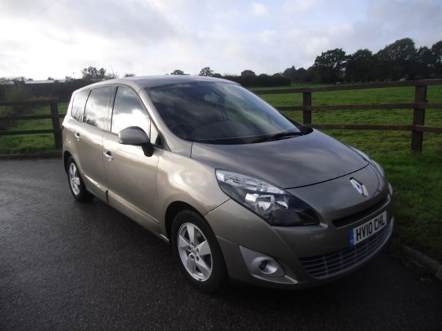 used Renault Grand Scenic DYNAMIQUE TOMTOM DCI in aldershot-hampshire