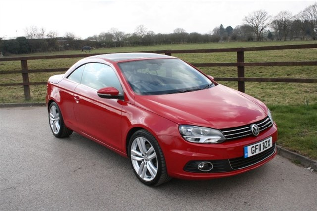 used VW Eos SPORT TSI 210PS in aldershot-hampshire