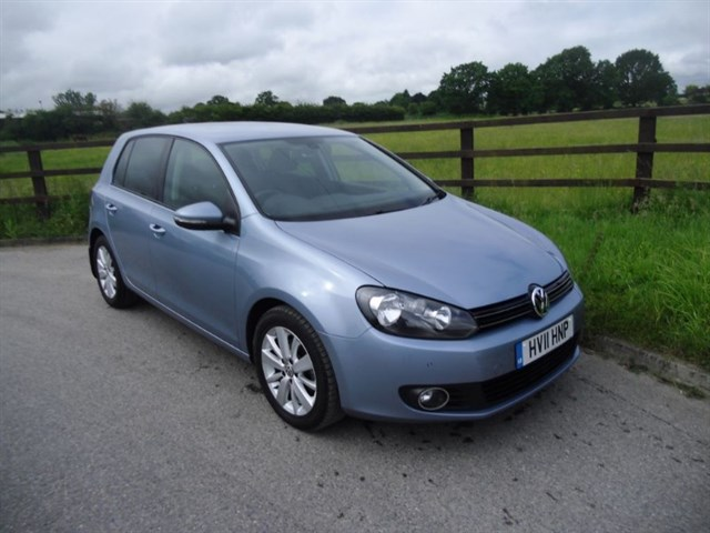 used VW Golf MATCH TDI DSG in aldershot-hampshire