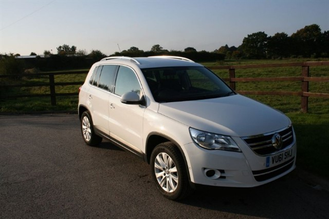 used VW Tiguan MATCH TDI 4MOTION in aldershot-hampshire