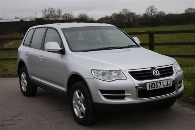 used VW Touareg V6 TDI AUTOMATIC in aldershot-hampshire