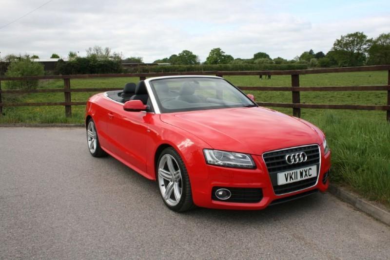 used Audi A5 TDI S LINE in aldershot-hampshire
