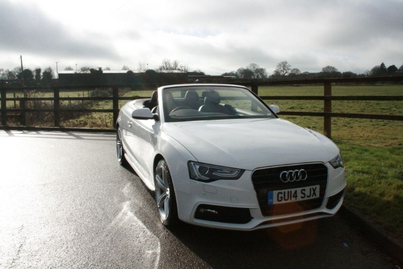 used Audi A5 TDI S LINE SPECIAL EDITION in aldershot-hampshire
