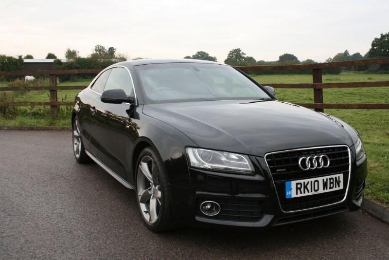 used Audi A5 TDI QUATTRO S LINE SPECIAL EDITION in aldershot-hampshire