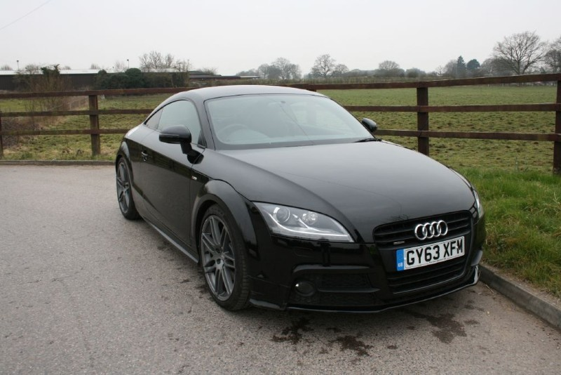 used Audi TT TDI QUATTRO BLACK EDITION in aldershot-hampshire