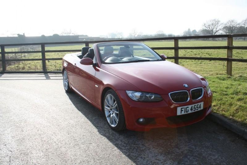 used BMW 330d M SPORT in aldershot-hampshire