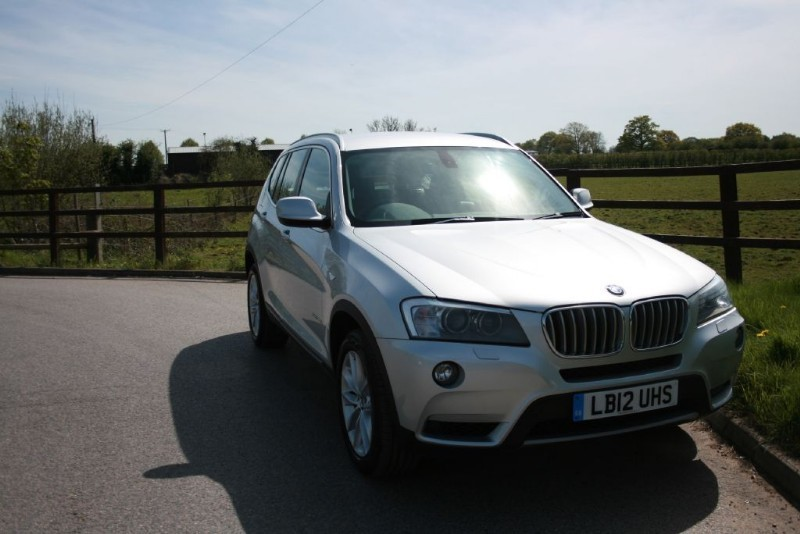 used BMW X3 XDRIVE35D SE (MEDIA PACKAGE) in aldershot-hampshire