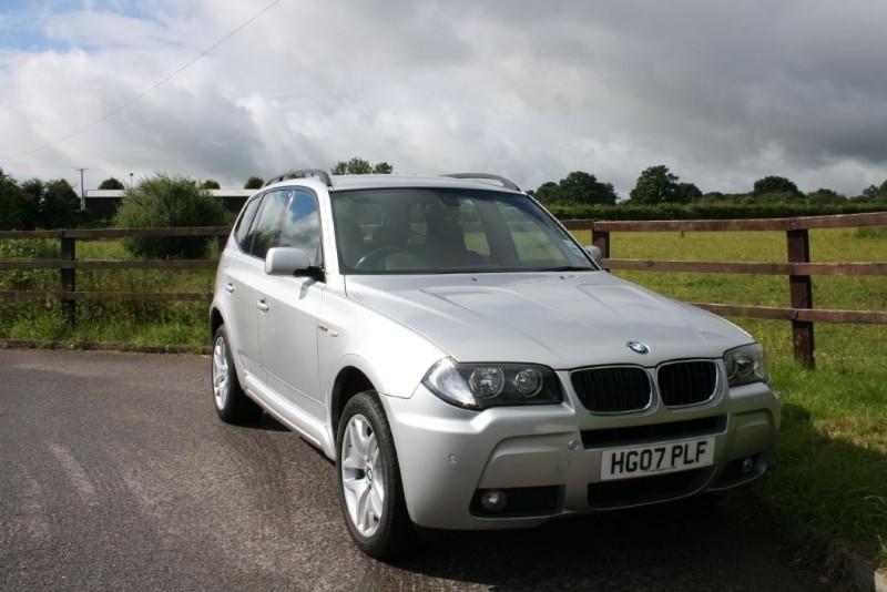 used BMW X3 D M SPORT in aldershot-hampshire