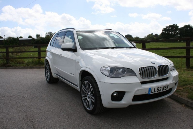 used BMW X5 XDRIVE40D M SPORT (PANO ROOF MEDIA PACK..STUNNING VEHICLE) in aldershot-hampshire