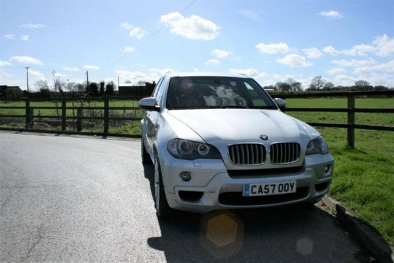 used BMW X5 SD M SPORT in aldershot-hampshire