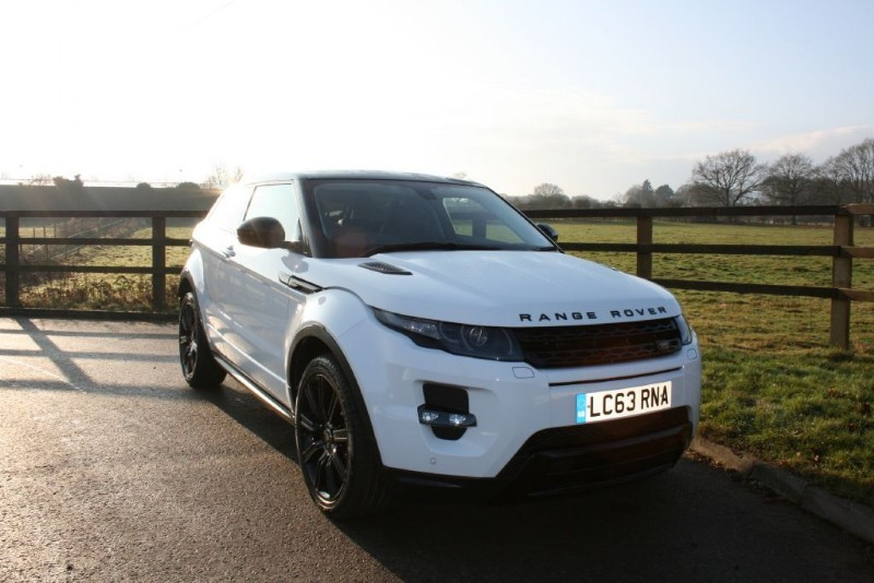 used Land Rover Range Rover Evoque SD4 DYNAMIC AUTOMATIC in aldershot-hampshire