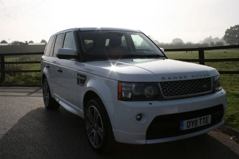 used Land Rover Range Rover Sport TDV6 AUTOBIOGRAPHY in aldershot-hampshire