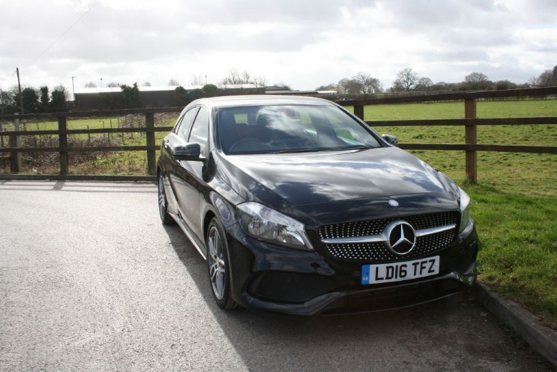 used Mercedes A180 A-CLASS A 180 AMG LINE in aldershot-hampshire