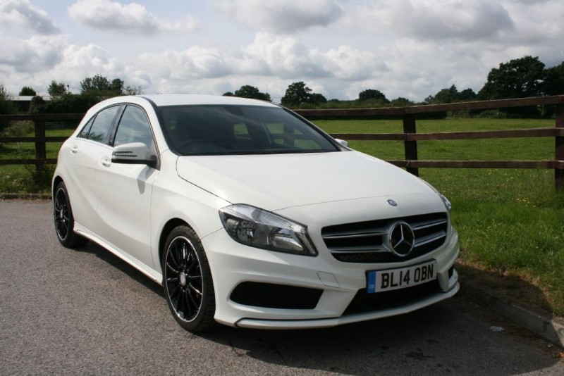 used Mercedes A200 CDI AMG SPORT in aldershot-hampshire