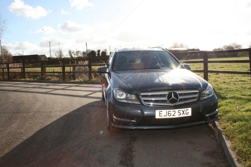 used Mercedes C200 CDI BLUEEFFICIENCY AMG SPORT in aldershot-hampshire