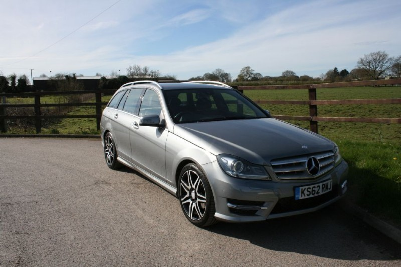 used Mercedes C220 CDI BLUEEFFICIENCY AMG SPORT PLUS in aldershot-hampshire