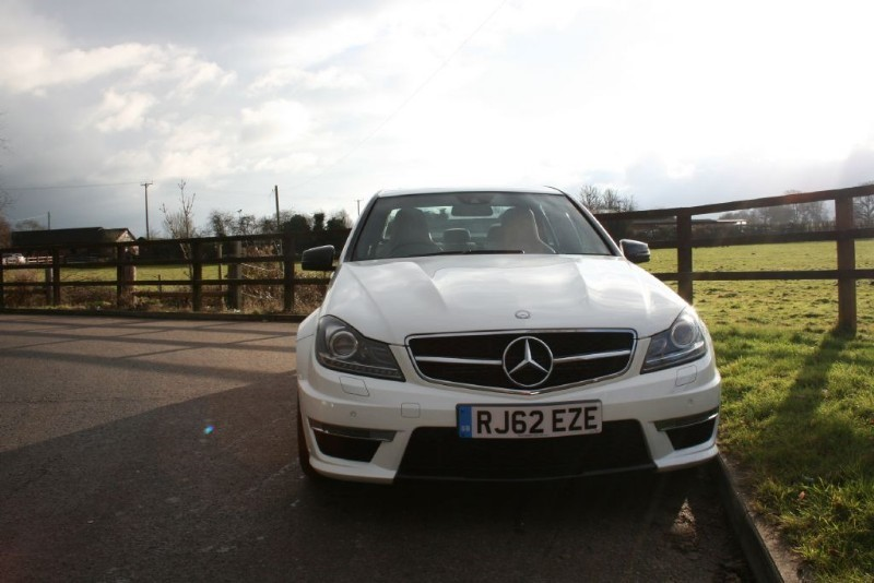 used Mercedes C63 AMG C63 AMG (MERCEDES EXTENDED WARRANTY UNTIL JAN 2018) in aldershot-hampshire