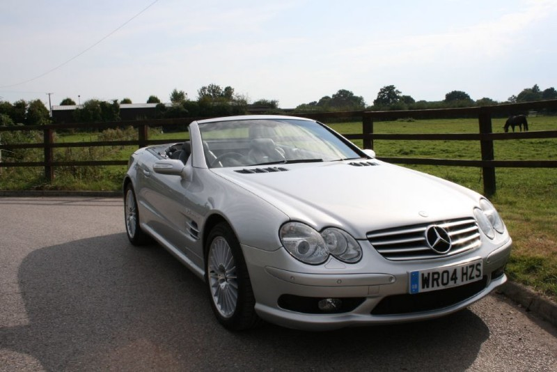 used Mercedes  SL SL55 AMG KOMPRESSOR in aldershot-hampshire