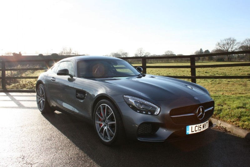 used Mercedes  GT AMG GT S PREMIUM in aldershot-hampshire