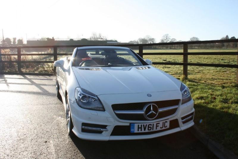 used Mercedes SLK250 SLK250 BLUEEFFICIENCY AMG SPORT ED125 in aldershot-hampshire