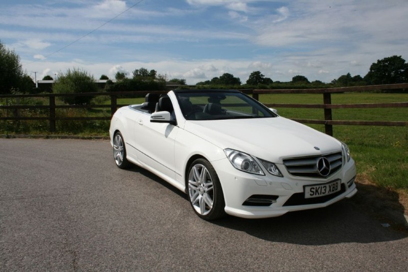 used Mercedes E220 CDI BLUEEFFICIENCY SPORT in aldershot-hampshire