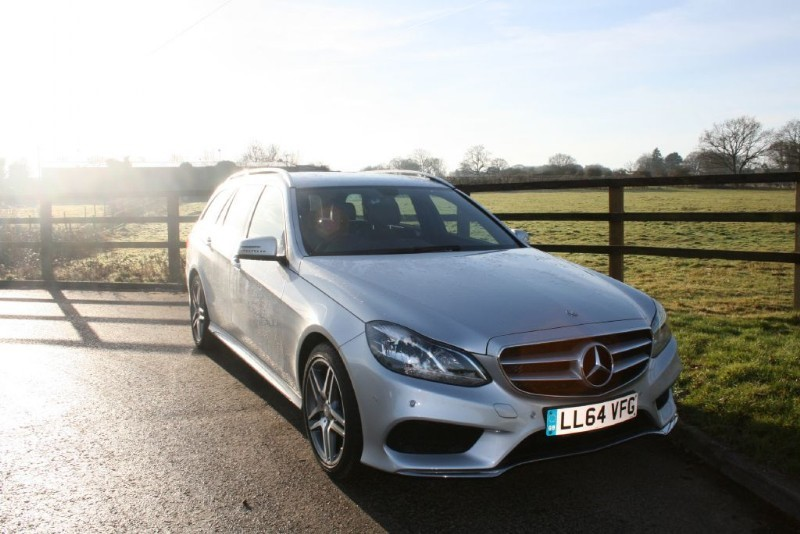 used Mercedes E220 BLUETEC AMG LINE in aldershot-hampshire