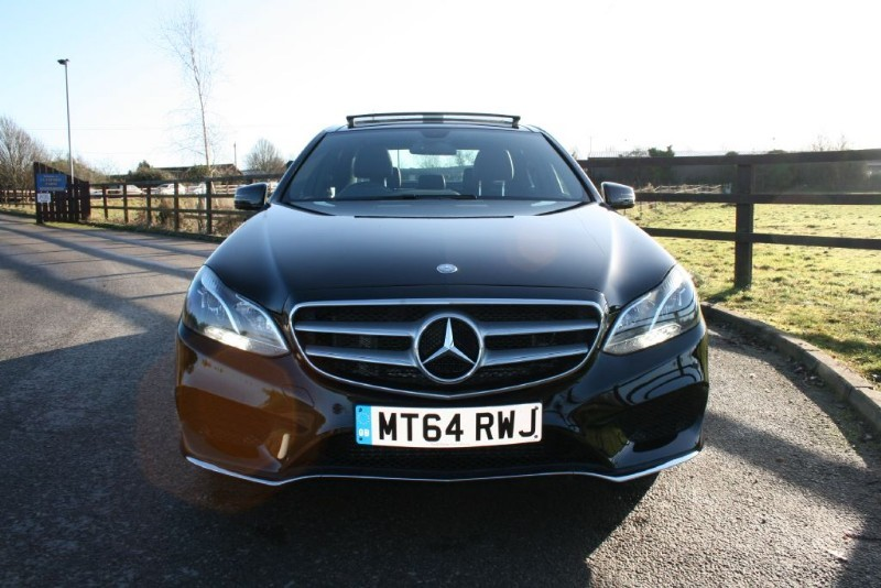 used Mercedes E220 BLUETEC AMG LINE PREMIUM PLUS in aldershot-hampshire