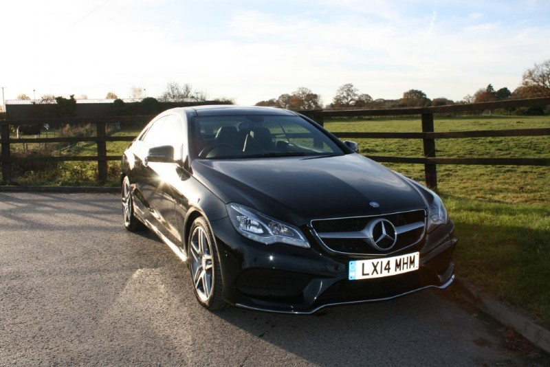 used Mercedes E250 CDI AMG SPORT in aldershot-hampshire