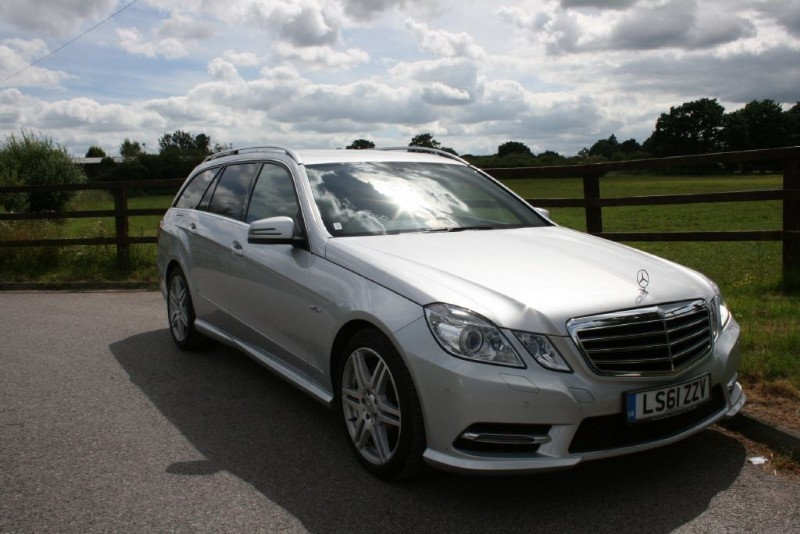 used Mercedes E250 CDI BLUEEFFICIENCY SPORT ED125 in aldershot-hampshire