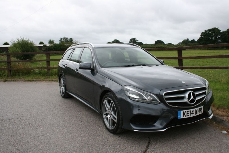 used Mercedes E250 CDI AMG SPORT in aldershot-hampshire