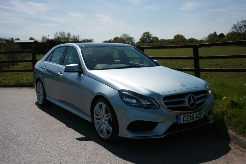 used Mercedes E300 BLUETEC HYBRID AMG SPORT(PANO ROOF) in aldershot-hampshire