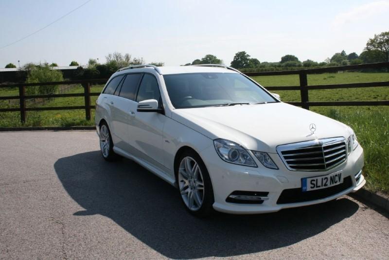 used Mercedes E350 CDI BLUEEFFICIENCY SPORT ED125 in aldershot-hampshire