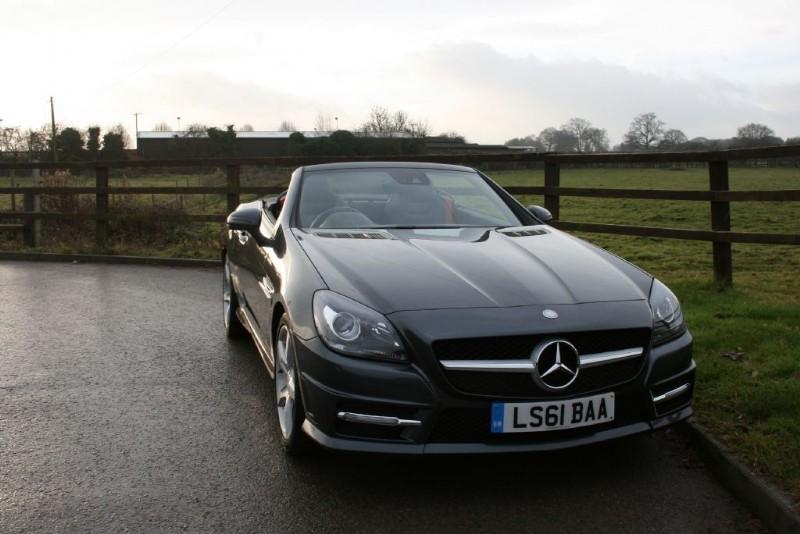 used Mercedes SLK SLK200 BLUEEFFICIENCY AMG SPORT ED125 in aldershot-hampshire