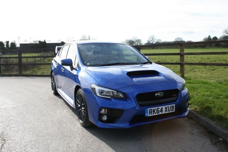 used Subaru WRX STI TYPE UK in aldershot-hampshire