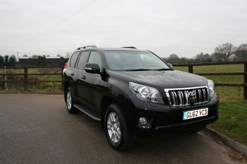used Toyota Land Cruiser LC5 D-4D in aldershot-hampshire