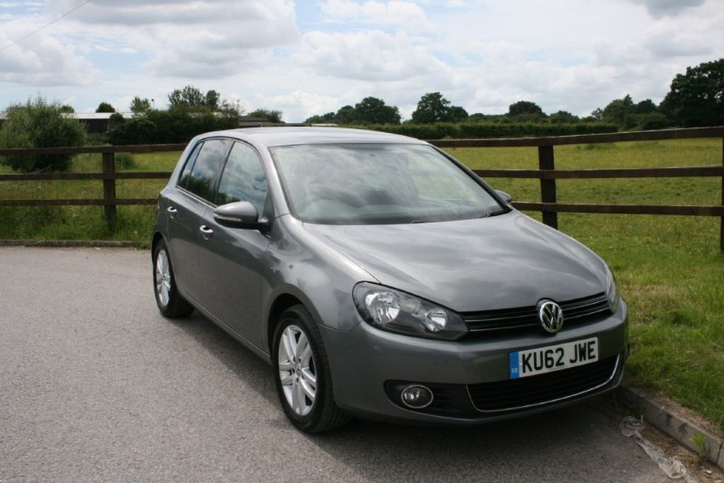 used VW Golf GT TDI BLUEMOTION TECHNOLOGY in aldershot-hampshire