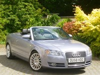 Used Audi A4 2.0T FSI Convertible (Very High Spec)