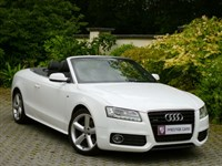 Car of the week - Audi A5 3.0 TDI Quattro S Line Convertible S-Tronic (Sat Nav) - Only £25,995