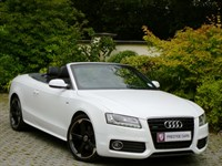 Car of the week - Audi A5 3.0 TDI Quattro S Line Convertible S-Tronic (Sat Nav) - Only £24,995