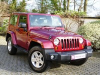 Car of the week - Jeep Wrangler 2.8 CRD Sahara Hardtop Auto  - Only £18,995
