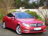 Car of the week - Mercedes C180 BlueEFFICIENCY AMG Sport Edition 125 7G Auto (Pan Roof/Nav) - Only £19,995