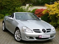 Used Mercedes SLK350 Auto (Sat Nav, Air Scarf)