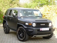 Car of the week - Toyota FJ Cruiser Auto LHD. THE COOLEST 4X4 BY FAR !!! - Only £21,995