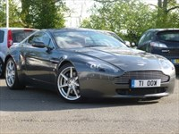 Used Aston Martin Vantage V8 with ?11.5k Pro Drive Performance Pack