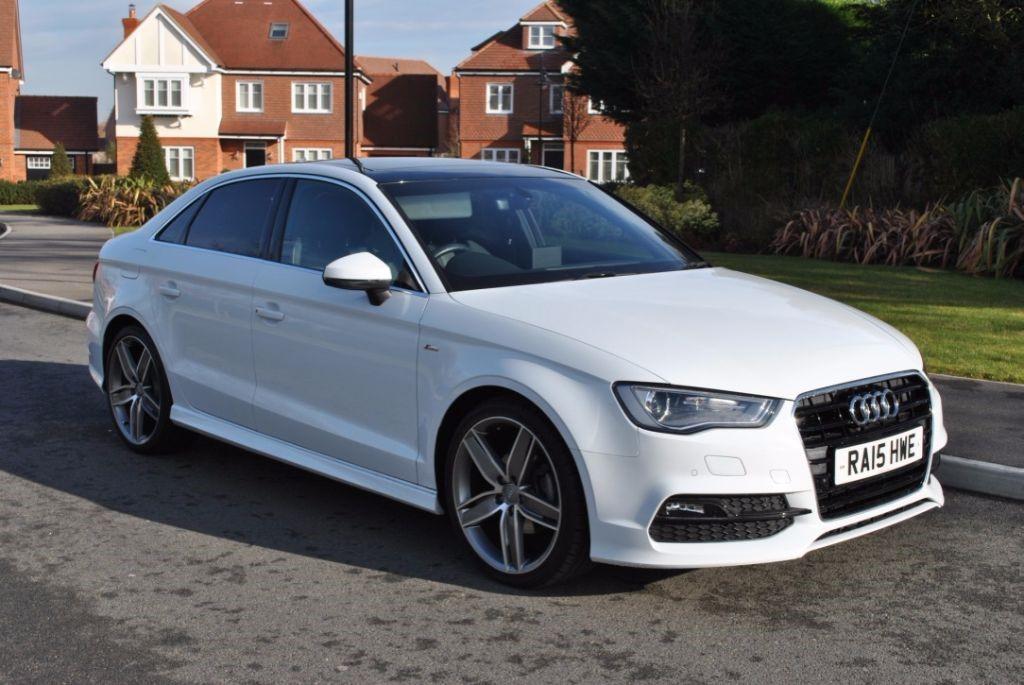Used Glacier White Audi A3 For Sale Hampshire