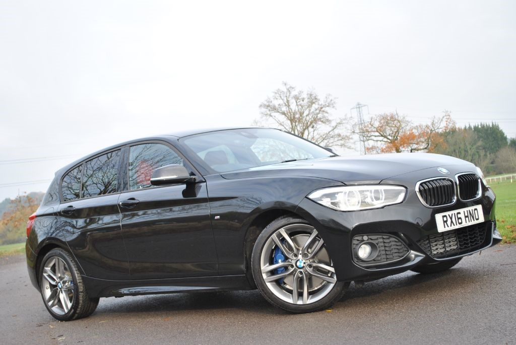 Used Black Sapphire Bmw 120i For Sale Hampshire