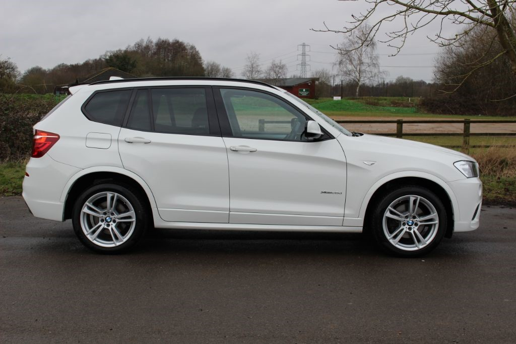 Used Alpine White Bmw X3 For Sale Hampshire